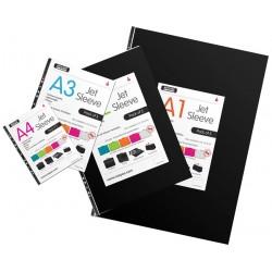 Jet Portfolio Art Display sleeves pack of 5