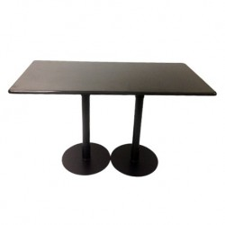 Bistro Table Double base Granite Top