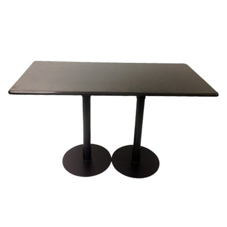 Bistro Table Double base Granite Top