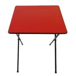 Folding Exam Desk RED UK