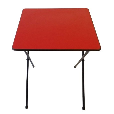 Folding Exam Desk RED UK
