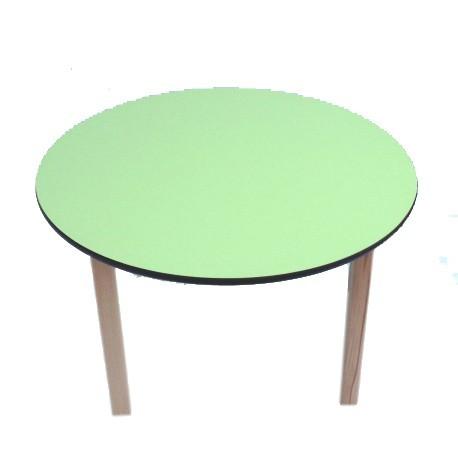 Kids Pre School Table Lime Green