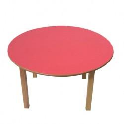 Kids Pre School Table Red Top
