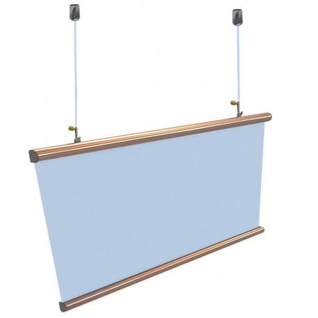Poster Hanger Aluminium-Ceiling Hanging Kit