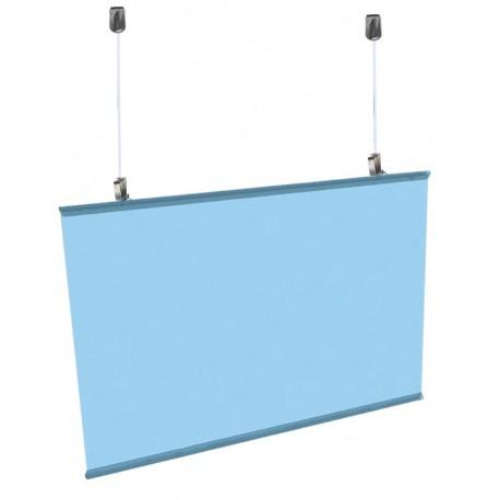 Poster Hanger Clear Transparent-Ceiling Hanging Kit