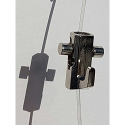Self-locking hook Chrome