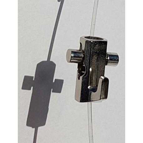 Self-locking hook Chrome