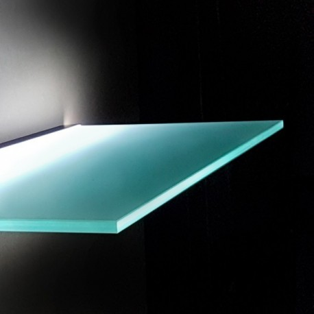 Lighting Glass Shelves