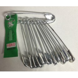 Pack of 12 Extra Large Safety Pins