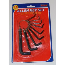 METRIC HEX ALLEN KEY WRENCH