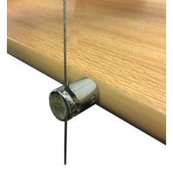 Hanging Wood Shelf Boss Support