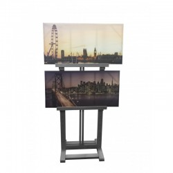Vertical Display Easel Wooden Hire