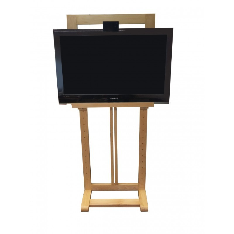 Exhibition Stand Hire Rates : Wooden tv easel hire uk cheapest rates and best services