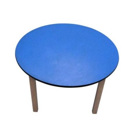 Kids Pre School wooden Table Blue Top