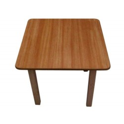 Kids Pre School Square Table Beech