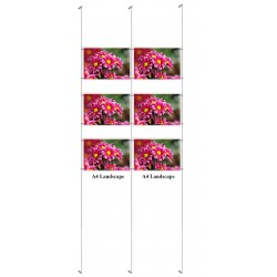 Cable Display Wall to Wall Multi Wire Kit A4