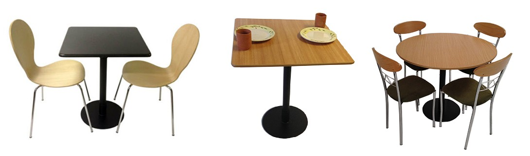 Bistro Pedestal Tables