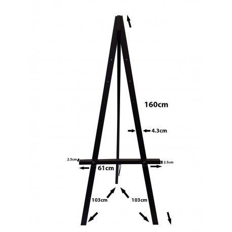 Easel hire london wooden easel stands