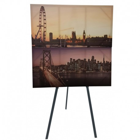Easel hire london metal easel stand