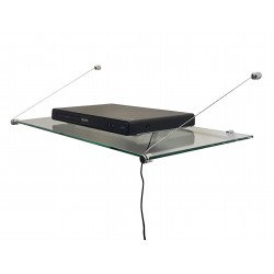 Suspended Glass shelf
