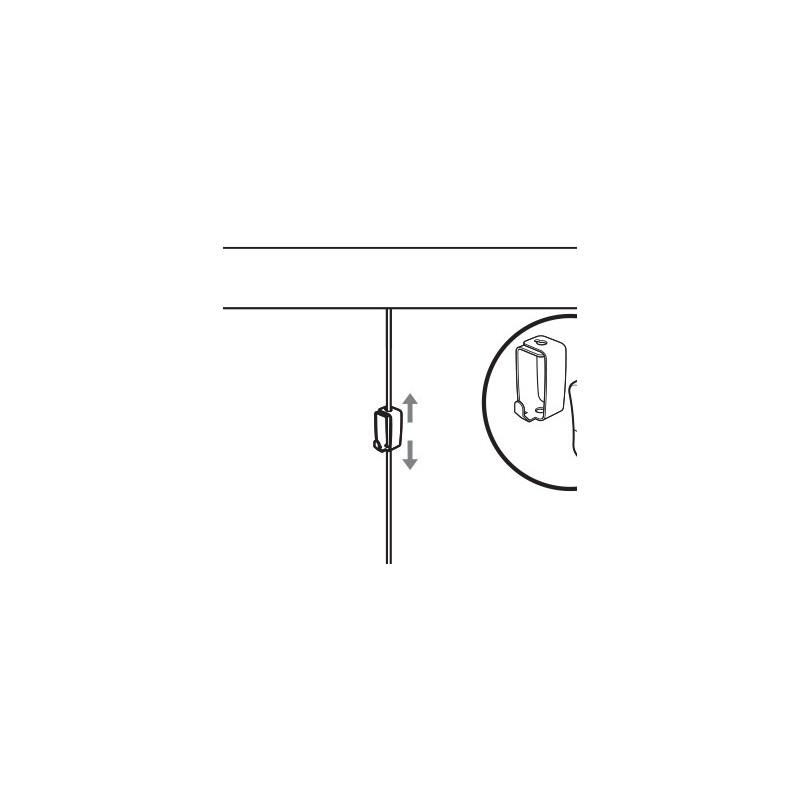 Stas Smart Spring Hook Picture Hanging Hook Art Gallery Hook