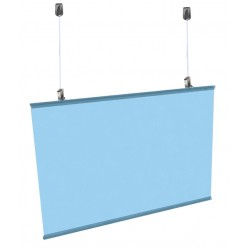 Poster Hanger Clear Transparent-Ceiling Hanging Kit
