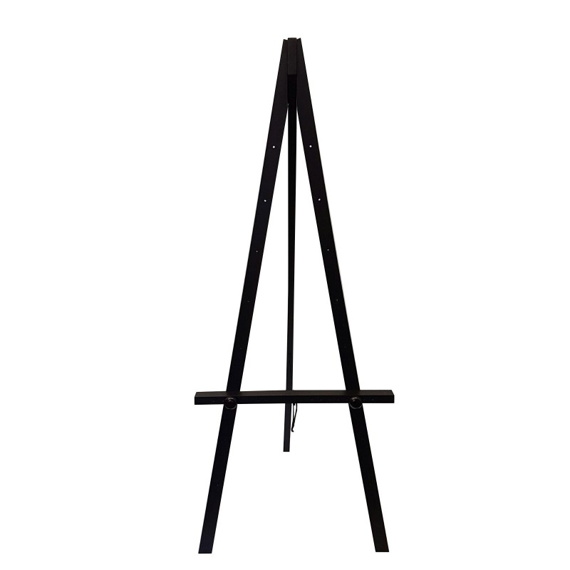 Wood Greco Easel 160cm White Black Silver Brown Easel Big