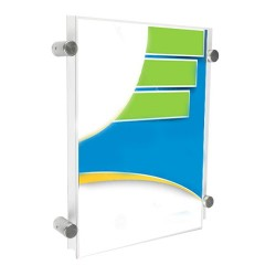 Side Grips Acrylic Display Panel Poster Kit