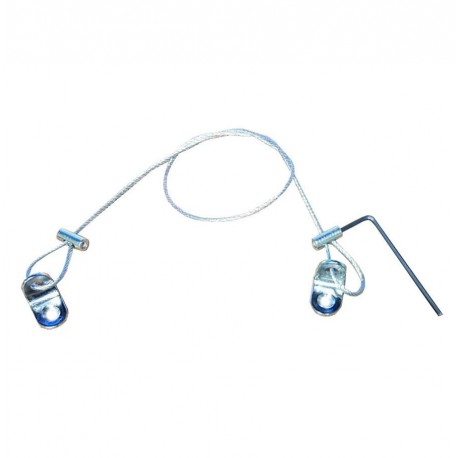 Steel Cable Wire Rope Security KIT