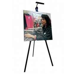Display Easel & expo Panel Light