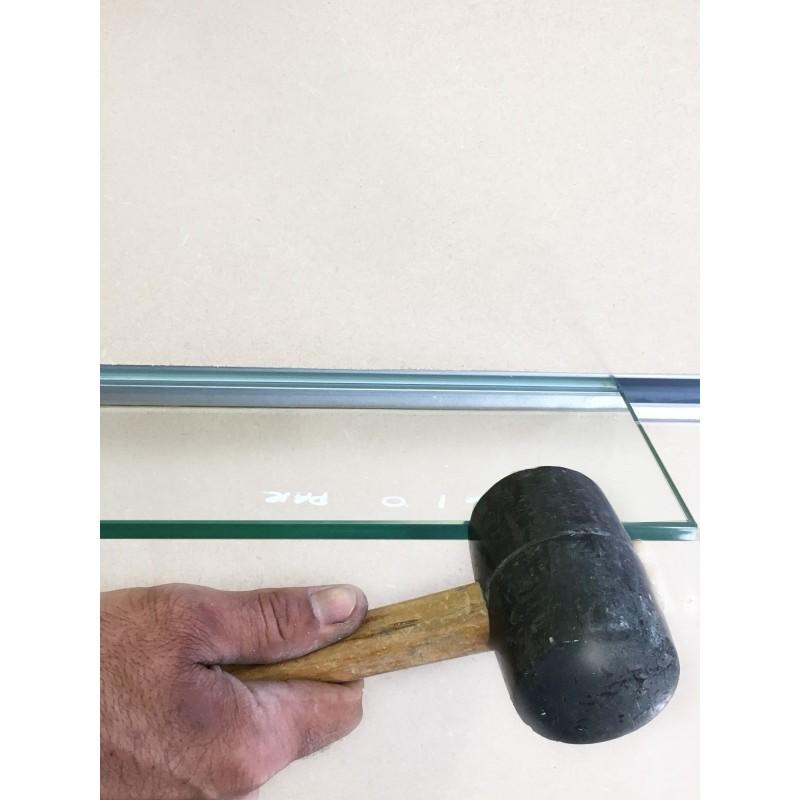 invisible hidden in wall floating support concealed bracket glass shelf. Black Bedroom Furniture Sets. Home Design Ideas