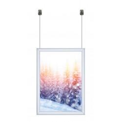 A4 Aluminium Hanging Frame