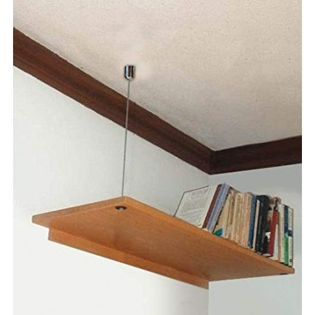 Steel Cable Wooden Shelves