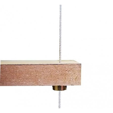 Under Shelf Support Reinforce Steel Wire Rope Cable