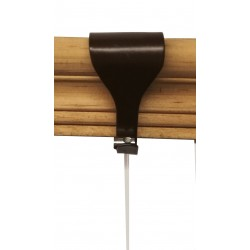 Moulding Hook Brown Holed