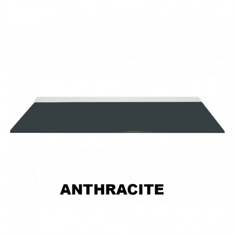 Anthracite Colour Glass Shelve