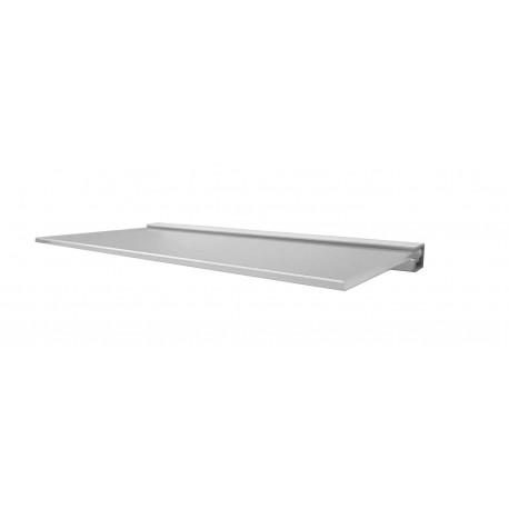 Floating Glass Shelf - Solid Wall