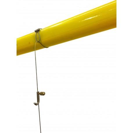 Wire rope steel loop 1.5 MM