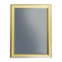 Gold Color Aluminium Snap Click Frames
