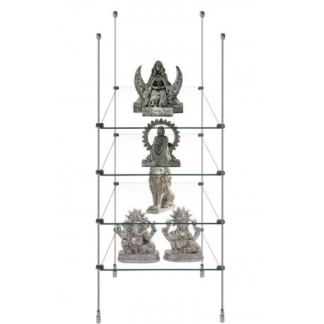 Rod Glass Shelf Display Kit