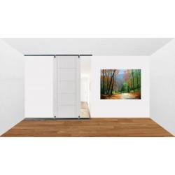 Sliding Door Ceiling To Floor Kit