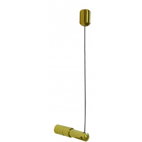 Ceiling to Wall Cable Set Gold