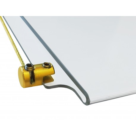Brass Gold Panel Support 4MM