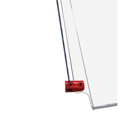 Red Panel Support Single 4MM
