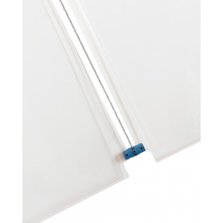 Blue Panel Support Double 4MM