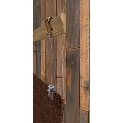 Victorian rail Rug Wall hanging kit
