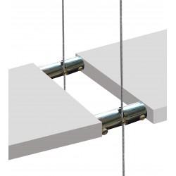 Hanging Wood Shelf Boss Support Double