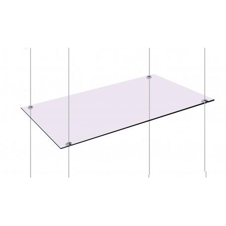 Glass Under Shelf Support