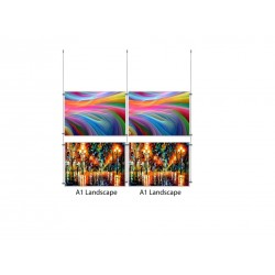 Ceiling Multi Cable Display Kit A1