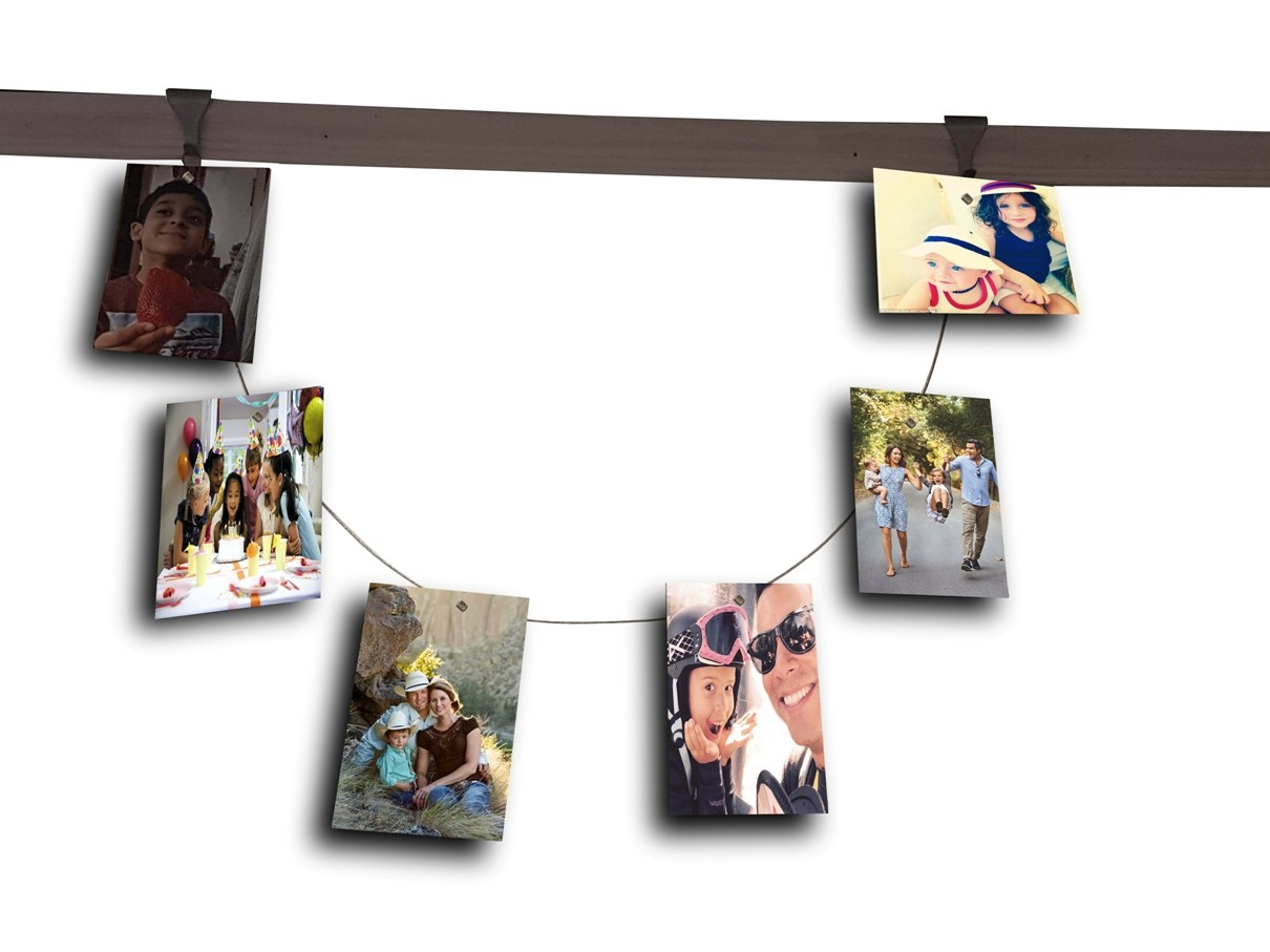Photo Display Ideas For Walls Moulding Hook Cable Set With Magnet